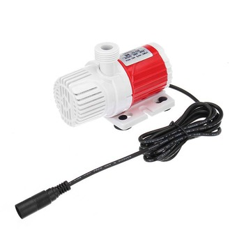 20W 12V Dc 1100L/H Submersible Water Pump Marine Controllable Adjustable Speed Water Pump Fish Tank Aquarium dc 12v 1100l h submersible water pump controllable speed for fish tank aquarium