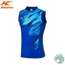 Натуральная Kason рубашка для бадминтона FVSN003-1 дышащая мужская повседневная быстросохнущая теннисная майка спортивная одежда