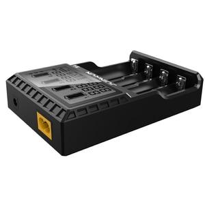 Image 2 - Cargador de batería de ion de litio 2.0A, Ni MH ni cd ni md 26650 18650 20700 21700 AA AAA, cargador de batería LCD