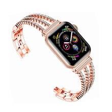 Ремешок Алмазный для apple watch band 40 мм 38 42 44 металлический