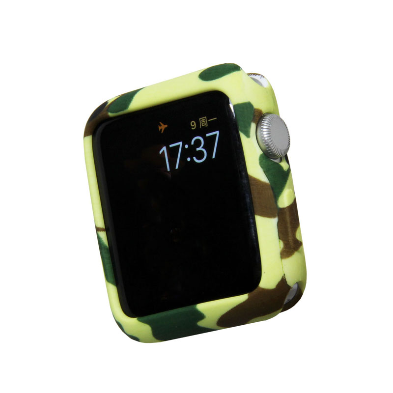 Camouflage Soft Case for Apple Watch 59