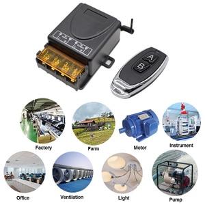 Image 4 - Беспроводной пульт дистанционного управления AC 85 260 в переменный ток 220 В 110 В Макс 40 А релейный модуль приемника широкое напряжение 433 МГц EV1527