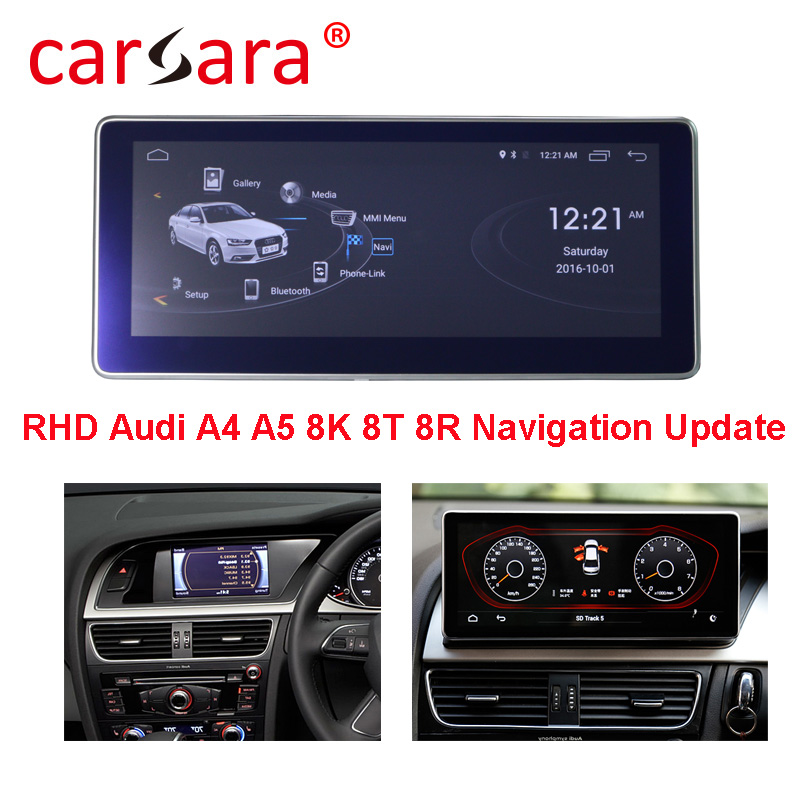 Car GPS Player For Right Hand Drive Audi A4 <font><b>A5</b></font> S4 S5 2005 2006 2007 2008 2009 2010 2011 2012 2013 2014 2015 <font><b>2016</b></font> image
