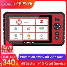 LAUNCH X431 CRP909C OBD2 сканер Профессиональный OBD 2 Автомобильный диагностический сканер подушка безопасности SAS TPMS IMMO сброс OBD считыватель кодов LAUNCH ODB