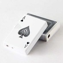 isqueiro Creative Personality Poker Lighter With Check Lighters