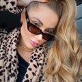 Очки солнцезащитные женские квадратные, винтажные пикантные маленькие модные роскошные брендовые дизайнерские дорожные солнечные очки в ...