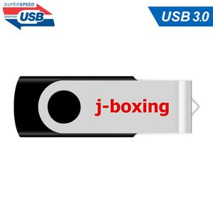 Image 3 - J boxing 16GB USB 3.0 Flash Drive Flash Memory Stick Metal Folding Pen Drive 32GB 64GB USB Flash U Disk for PC Mac Tablet Black
