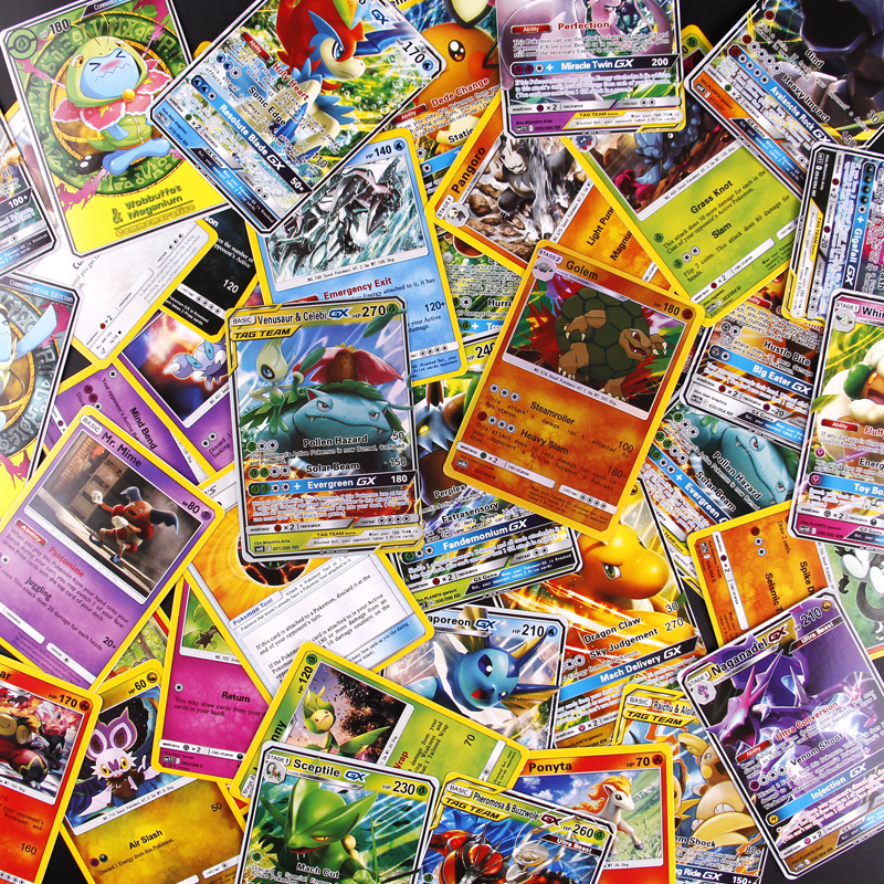 54PCS Cards Per Random Box New POKEMON Card English Version Pokemon Sm11 Ptcg Battle Collection Card Box Kids Toy Gift