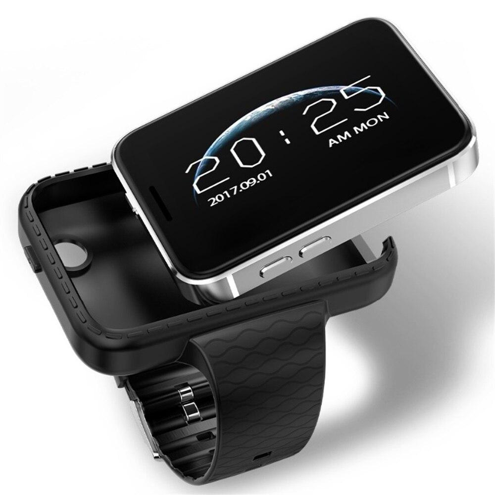 Reloj inteligente con Bluetooth 2,2 pulgadas Android OS 3G Smartwatch teléfono hablar Banda Dual Core 1,2 GHz 512MB RAM 4GB ROM Cámara WCDMA GPS llamada