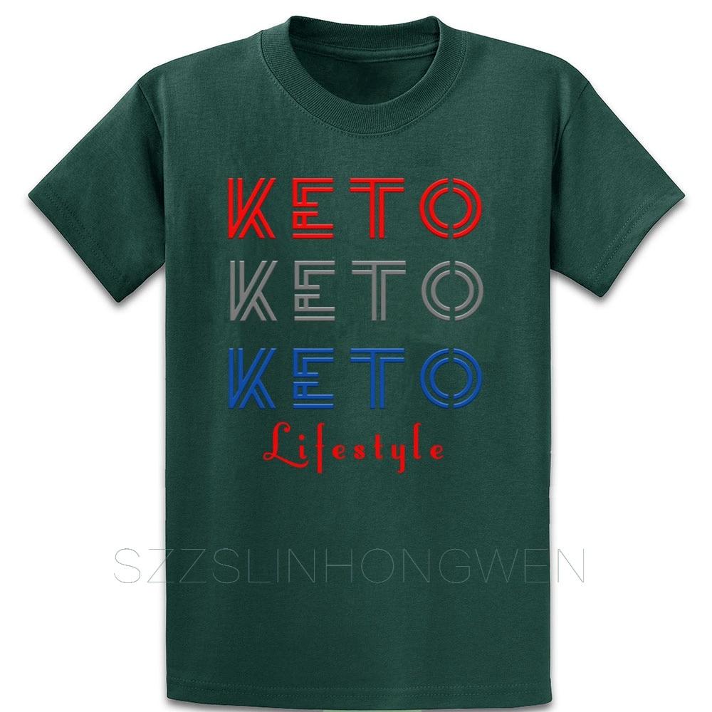 Keto Lifestyle T Shirt Cotton Customize Fashion Summer Unique Loose Euro Size Over Size S-5XL Trend Shirt