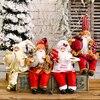 Santa Claus Doll 2020 Christmas Ornaments Merry Christmas Decor For Home Table Navidad Natal Cristmas Gifts Happy New Year 2021