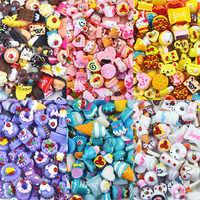 10 pièces/sac colle résine pour Slime bricolage polymère remplissage Addition Slime accessoires jouets Lizun pâte à modeler Surprise Kit pour les enfants