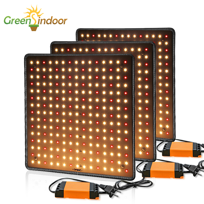 3pcs LED Grow Light 1000W 3500K Phyto Lamp For Plants Full Spectrum Indoor Fitolamp 225 Leds Light For Indoor Growing Grow Tent