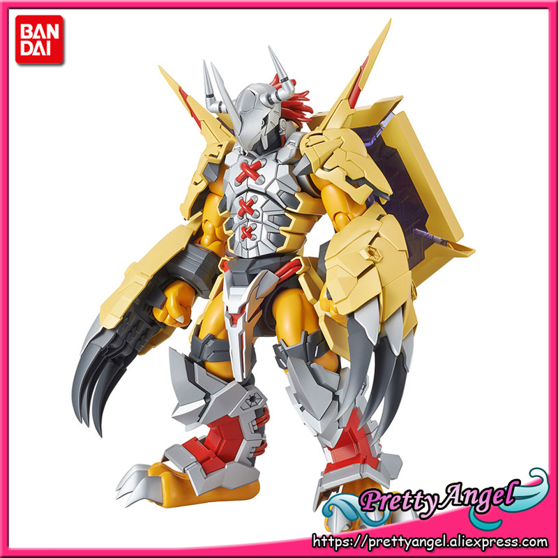 PrettyAngel - Genuine BANDAI SPIRITS Figure-rise Standard Assembly WarGreymon (AMPLIFIED) Plastic Model Action Figure