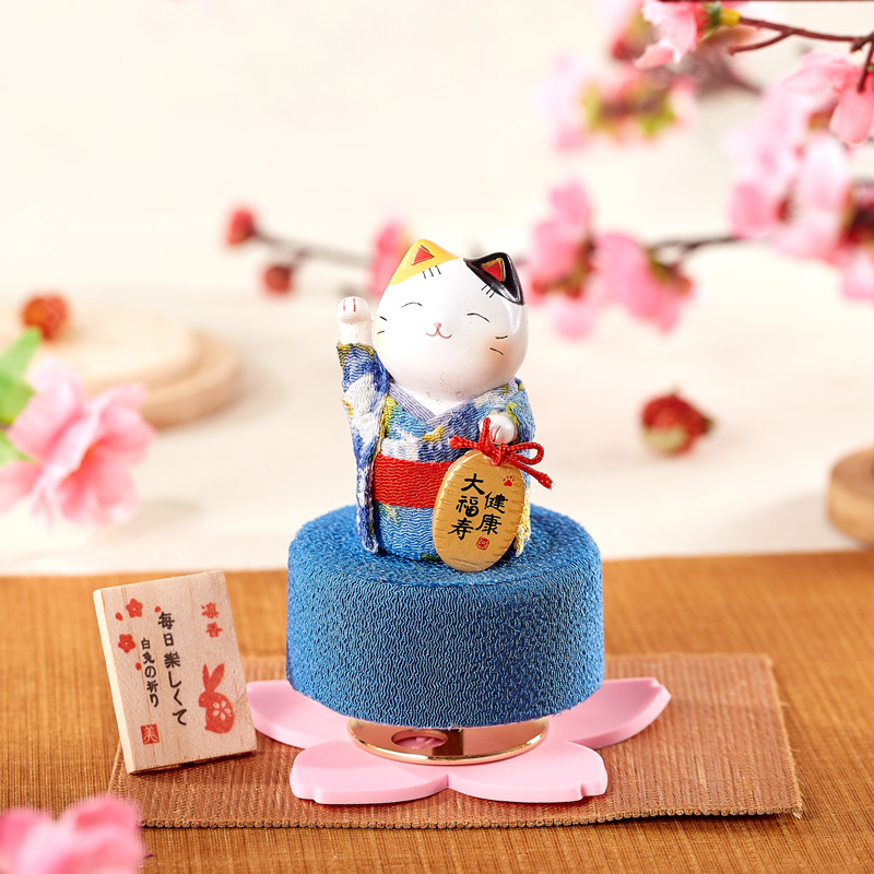 Japanese Creative Animal Music Box Anime Song Music Accessories Decoration Mystery Box Gift Caja Musical Birthday Gift EH50MB