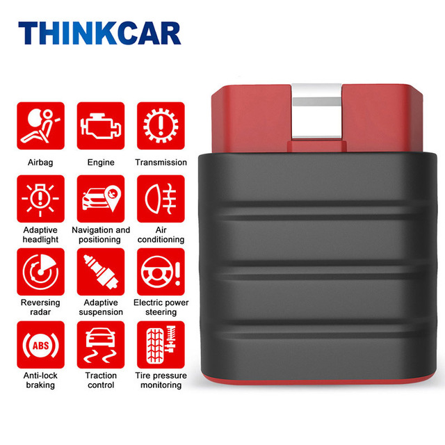 Thinkdriver Automatic OBD2 Scanner Full System Car Diagnostic Tools DPF ABS SAS Reset Code Reader OBD Tester For Cars
