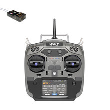RC Radio JR Bay WFLY ET16 2.4G 16CH RC Transmitter With RF209S RC Receiver for FPV Drones-Mode 2 Mode 1