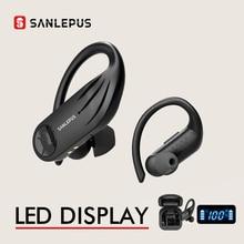 SANLEPUS B1 TWS casque sans fil Bluetooth écouteurs stéréo écouteurs Sport entraînement casque pour Xiaomi Huawei Android Apple