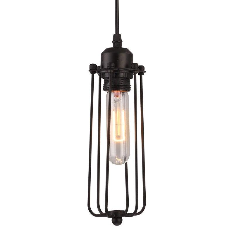 Modern Hanglamp LED Pendant Lights Kitchen Fixtures Black Flute Dining Room Hanging Pendant Lamp Home Decor Industrial Luminaire
