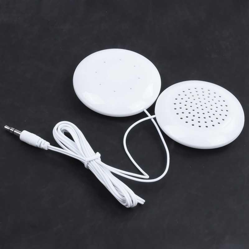 3.5 ミリメートルプラグユニバーサルミニ首枕スピーカー iphone の ipod MP3 MP4 プレーヤー