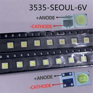 Image 3 - 2000pcs For Seoul 3535 LED 2W 6V 3535 Cool white LCD Backlight High Power LED Backlight for TV TV Application SBWVL2S0E