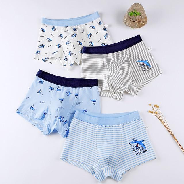 Boys Cotton Underwear Set  4