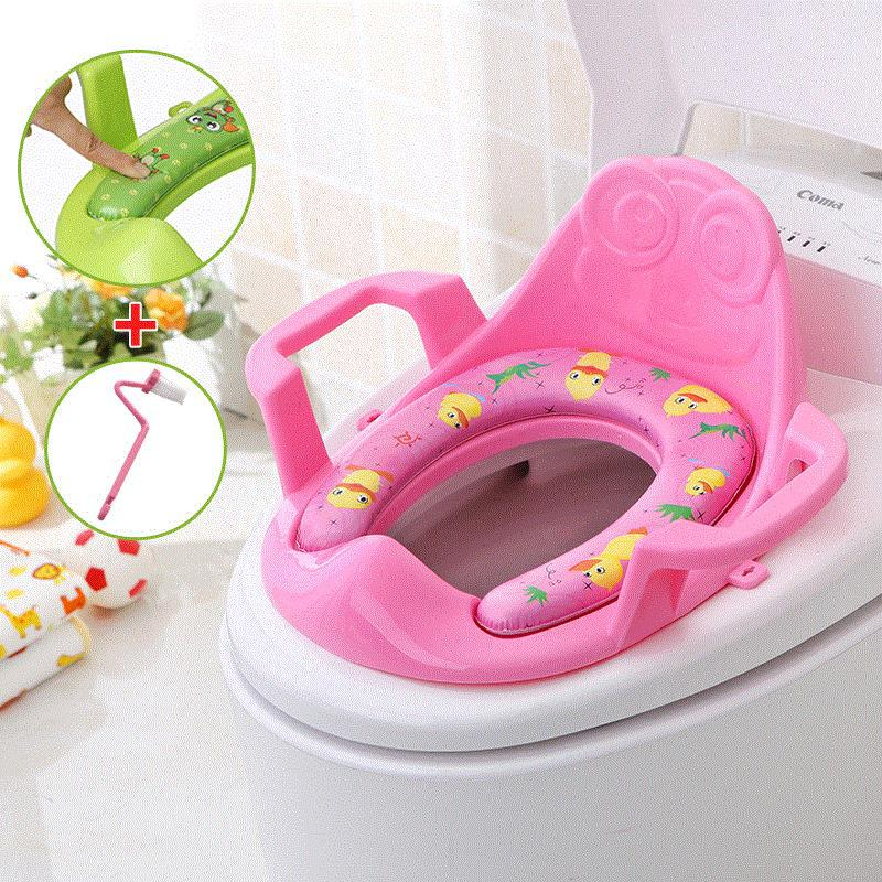 Portable Put Pedestal Pan On Household Toilet Seat Toilet For Kids Circle Toilet Stool Toilet Baby GIRL'S