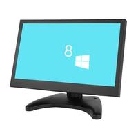 10.1 inch widescreen LCD monitor IPS screen monitor display with AV/BNC/VGA/HDMI/USB interface