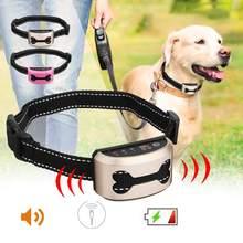 Anti Bark Dog Collar Anti Barking Device Rechargeable Control Train Waterproof Ultrasonic Dog Training Collar No Bark Collar