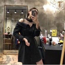 Новинка 2020 женское вельветовое платье со шнуровкой с открытыми