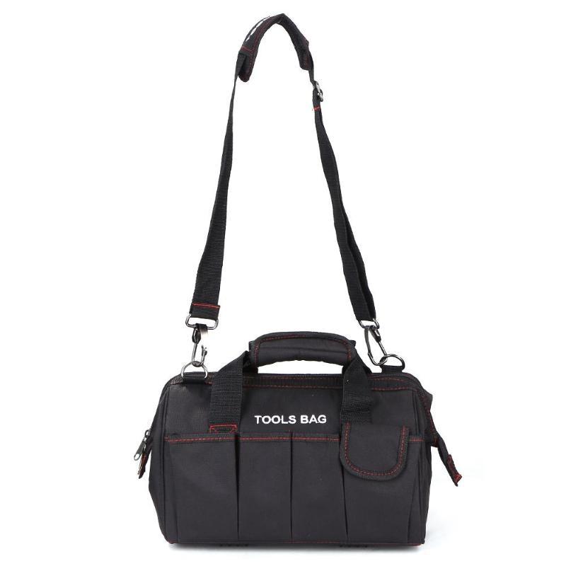 Waterproof Tool Bag 600D Oxford Cloth Shoulder Toolkit Hand Bag Waistbag Large Capacity Tools Hardware Storage Bags