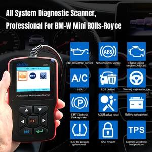 Image 2 - Creator c501 자동 진단 bmw obd2 스캐너 멀티 시스템 스캐너 오류 진단 도구 bmw obd2 기능