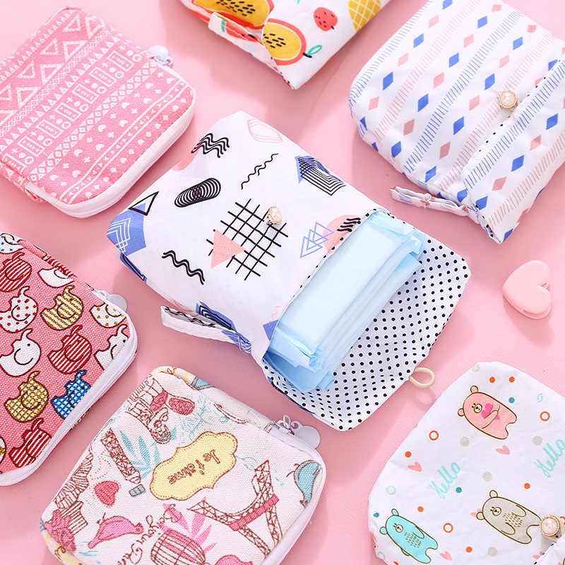 대용량 위생 냅킨 보관 가방 화장품 가방 Neceser Make up bag 지퍼 립스틱 가방 носметичиpurse 지갑 여행용 보관소