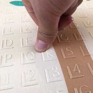 Image 5 - 180X200CMベビーマット 1 センチメートル厚さ漫画xpe子供プレイマット折りたたみアンチスキッドカーペット子供ゲームマット