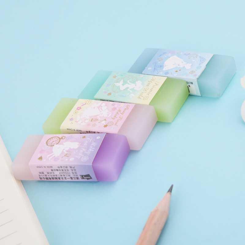 חמוד סגנון כפול צבע יסודי מחק תלמיד פרסים תלמיד מתנת מכתבים