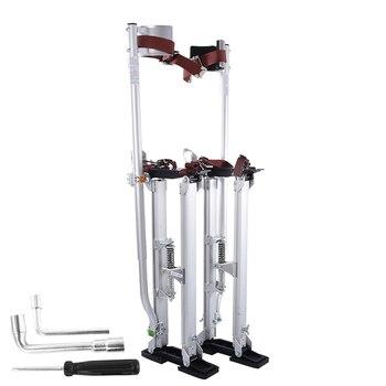 New 24-40 Adjustable Professional Aluminum Plastering Stilt Ladder Drywall Plaste Stilts Stage Props Interior Decoration Stand