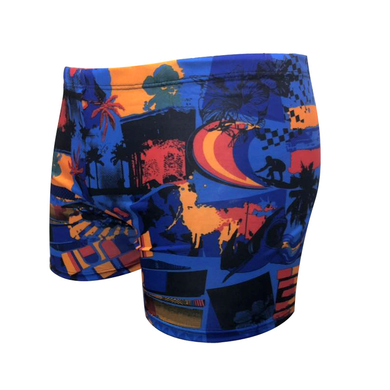 BOY'S Swimming Trunks New Style Teenager Hot Springs AussieBum Manufacturers Wholesale Big Kid Swimming Trunks 70-110 Catty Wear