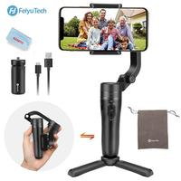 FeiyuTech Vlog Pocket Gimbal MINI 3 Axis Handheld Gimbal Foldable Stabilizer for Smartphone Android iPhone 240 g Payload