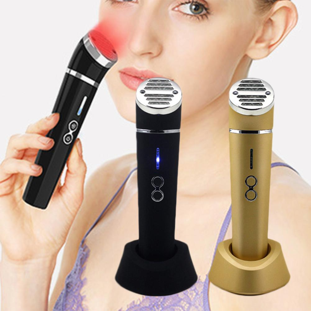 Face Lifting Beauty Instrument Infrared Photon Rejuvenation Vibration Device Tighten Lifting Skin Care Facial Massager