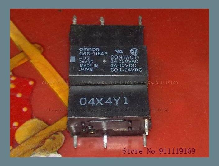 G6B-1184-US 24VDC 2A 4 1114 33F-1A старого
