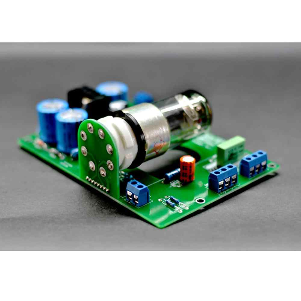 6N8P (6H8C 6SN7) Best Sound Single Tube Horizontal Version of the tube Valve Pre-amp Tube PreAmplifier Board DIY