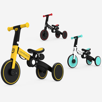 Children Bicycle Tricycle Child Bike Foldable Baby Balance Bicycle 5-in-1 Children's Scooter Kids Walker for 1-6 Years Old bicycle happy baby 50008 bike children bicycle balance bike for boys and girls for children grey dark gray kids bike running b