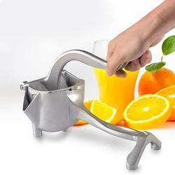 Mini instrukcja owoce sokowirówka ze stopu aluminium wyciskacz do cytryny uchwyt prasa nietoksyczny narzędzie kuchenne 228x108X101mm w Ręczne sokowniki od Dom i ogród na