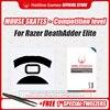 Hotline Games Mouse Skates Wettbewerb Ebene Maus Skates Maus Füße Pad für Razer DeathAdder Elite 0,28mm/0,6mm Dicke