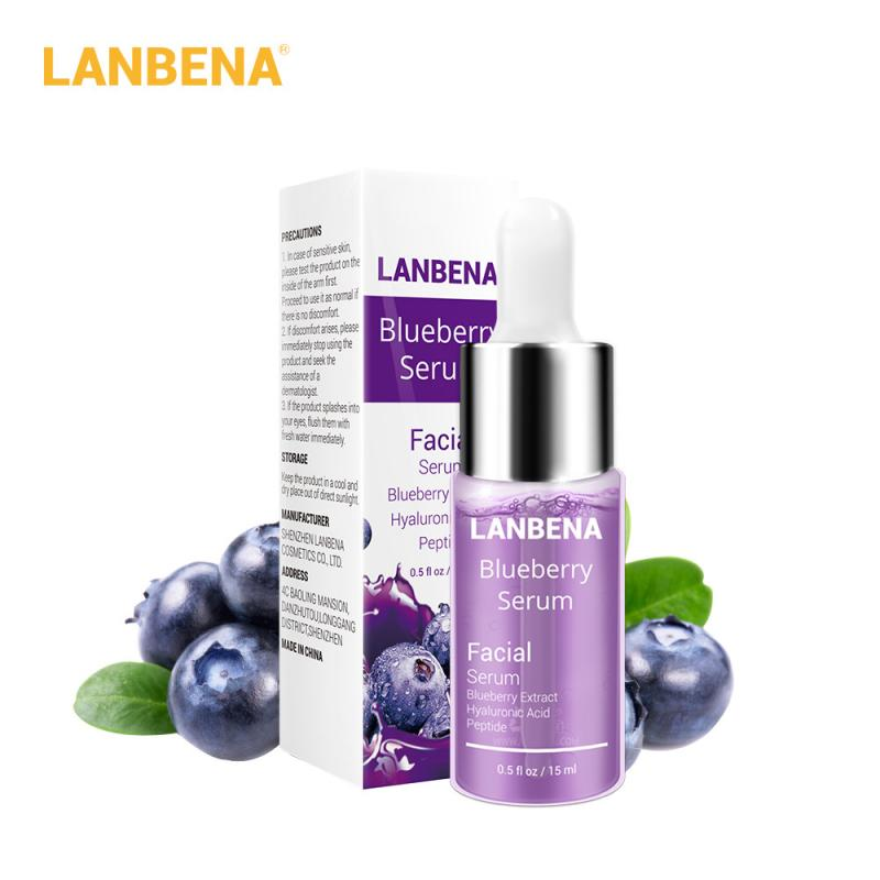 Blueberry Extract Hyaluronic Acid Serum Moisturizing And Brightening Skin Repair Whitening Anti-Aging Winkles Skin Care TSLM1