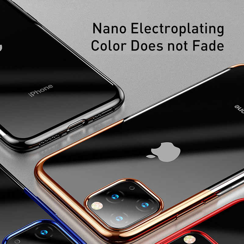 Baseus מלא כיסוי Protetion עבור iPhone 11 מקרה חדש כיסוי עבור iPhone 11 פרו מקס טלפון מקרה ברור קאפה Coque חזור טלפון כיסוי מקרה