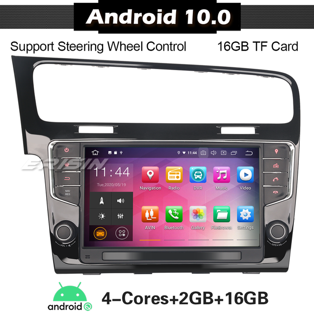 5111 Android 10 Car Stereo per VW GOLF 7 VII WiFi DAB + TPMS 4G Octa Core Autoradio Radio player Capo Unità Carplay