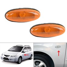 Newcar lado marcador de luz fender luz repetidor indicador da lâmpada para mazda 323 626 mpv premacy MX-6 tributo b01w51120