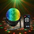 3 Вт Led диско E27 светильник сценический светильник s шар Звуковая активация лазерный проектор Эффект лампа светильник для дома Рождественски...