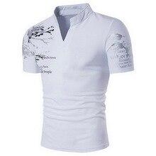 Laamei, Мужская рубашка поло, повседневная, короткий рукав, мужская, хлопок, рубашка поло, с принтом, приталенная, Camisa, рубашка поло, новинка, летняя мужская одежда